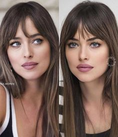 Hair Inspo, Hair Inspiration, Hairstyles With Bangs, Cool Hairstyles, Long Hair With Bangs, New Haircuts, About Hair, Hair Hacks, Hair Trends