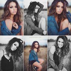 Beautiful girl, cool photo shoot