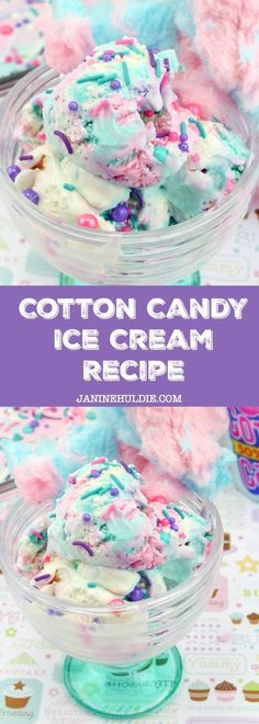 Cotton Candy Ice Cream Recipe Tutorial So Easy to Make Cotton Candy Ice Cream Recipe selber machen ice cream cream cream cake cream design cream desserts cream recipes Cotton Candy Ice Cream Recipe, Cotton Candy Flavoring, Ice Cream Candy, Ice Cream Treats, Ice Cream Flavors, Ice Cream Recipes, Ice Candy, Party Candy, Cotton Candy Recipes