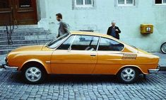 They drove between Rostock and Suhl- Rather rarely seen, but very sought after, the Skoda 110 R. Initially with only 62 HP, it got from 1975 as 130 RS to a full 140 horses under the rear. Audi, Bmw, Volkswagen, Automobile, Saab, Car Makes, Top Cars, Small Cars, Amazing Cars