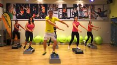 I'm Dovydas Veiverys, and I live in Lithuania. I've been a ZIN™ Member since Oct 2011 and I absolutely love teaching Zumba classes. Step Aerobic Workout, Aerobics Workout, Zumba Fitness, Dance Fitness, Step Aerobik, Contemporary Dance Classes, Zumba Routines, Belly Dancing Classes, 20 Minute Workout