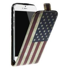 Köp Flipfodral Läder Apple iPhone 6/6S USA-flagga online: http://www.phonelife.se/flipfodral-lader-apple-iphone-6-usa-flagga