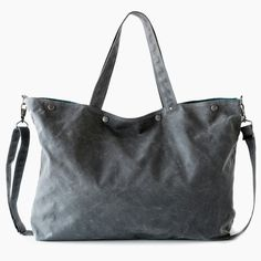 Moop Bag | The Porter in Waxed Canvas