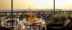 Where to find the Best Views in Paris (15 of the BEST!)Hotel Terass