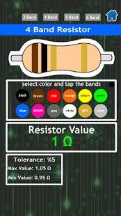 Resistor Calculator With Game- ekran görüntüsü küçük resmi