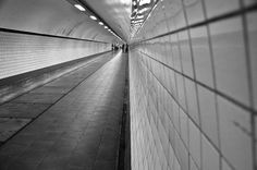 Antwerp Pedestrian Subway by Nicky Leemreijze-Mosselman, via Flickr