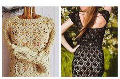 Ideas para el hogar: Vestido / Damas / Crochet   Supernatural Style
