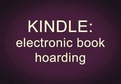 That's my Kindle
