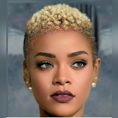 Fade-Haircut-for-Black-Women Best Short Hairstyles for Black Women 2018 – 2019 Age never prevents a woman from being a woman. Let these older women's short hairstyles inspire your inner young spirit. Natural Hair Short Cuts, Short Natural Haircuts, Natural Hair Styles For Black Women, Short Hair Cuts, Short Hair Black Girls, Short Haircut Black Girl, Tapered Natural Hairstyles, Short Fade Haircut, Natural Styles