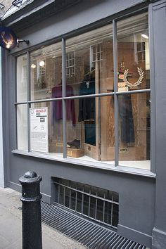 Fred Perry Window, look at those doors @Cassy Drake