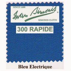 Kit tapis Simonis 300 B220 Bleu Electrique - 260,00 €  #Jeux