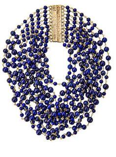 Lapis Rosantica Pegaso lapis necklace