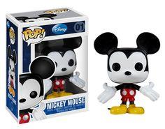 Amazon.com: Disney POP! 3 Inch Vinyl Figure Mickey Mouse: Toys & Games