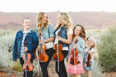 """Title: The Five Strings. """"The Five Strings is a gifted performing violin group comprised of five siblings – Talisa, Tavia, Tiana, Trevin and Tiarra – from St. George, Utah."""""""