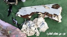 Remains from EgyptAir wreckage examined amid conflict over initial findings