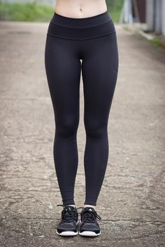 Black Teen In Leggings