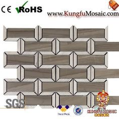 The Coffee Marble Tile Backsplash is a good mosaic tile pattern. This product in rectangle shape. Obviously, this product made of Coffee Marble. In addition, it is also with other light color marble materials. Marble Tile Backsplash, Stone Mosaic Tile, Marble Mosaic, Mosaic Tiles, Travertine, Rectangle Shape, Tile Patterns, Light Colors, Shapes