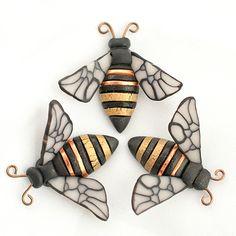 Honey Bee by Linda Webb Clay ~  x