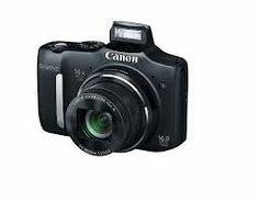 Aparat foto Compact Canon PowerShot SX160 IS Black