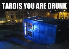 """""""And when you are drunk, you forget that I am the leader."""" - Because Doctor Who and Willow should be joked about at once.  Yes."""