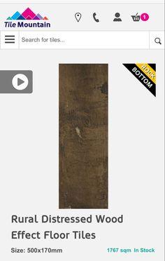 Wood Effect Floor Tiles, Tile Floor, How To Distress Wood, Rustic Wood, Letters, Flooring, Tile Flooring, Letter, Wood Flooring