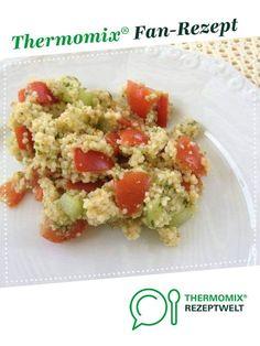 Couscous Salat frisch,leicht,lecker von turbotine. Ein Thermomix ® Rezept aus der Kategorie Vorspeisen/Salate auf www.rezeptwelt.de, der Thermomix ® Community.