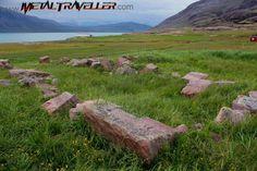 Garðar ruins in Igaliku, Greenland