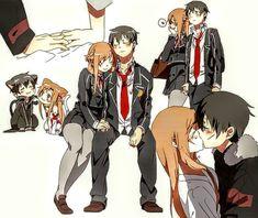 Sword Art Online || Kirito and Asuna
