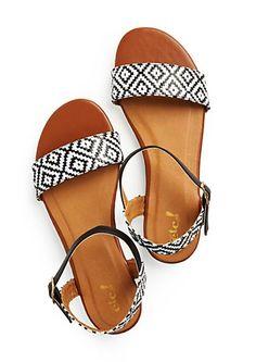 Aztec Wicker Sandal | rue21