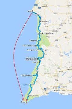Algarve, Santiago Do Cacem, Azenhas Do Mar, Tour Around The World, Portugal Travel, Menorca, Road Trip, Places To Visit, Make A Wish