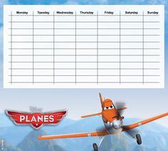 Planes Timetables 01