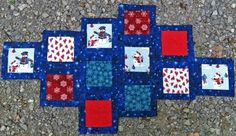 Frosty+Blue+Snowman+Table+Runner+Kit+at+Creative+Quilt+Kits  Use Code- PINTEREST10 to receive 10% off your order at check out!!