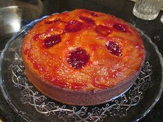 Quick Almond and Plum Cake (Jacques Pepin recipe) ... oh so good!