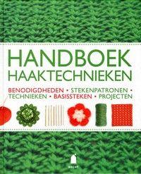 Omvangrijk handboek waarin heel veel verschillende haaktechnieken worden beschreven met daarbij een groot aantal voorbeelden van te maken werkstukken.