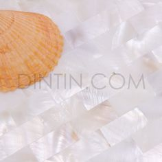 Natural White Mother Of Pearl Tiles Brick Pattern 15x30mm - SHELL TILES - Tiles