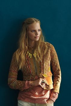 #OdissiVintageKanthaJacket #Anthropologie. I am thinking of ordering this even though it doesn't come in petites and the sleeves will come over my hands.