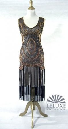 flapper fabulous - site to order beautiful 20's style dresses