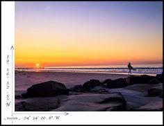 surfer at sunset  #travel #photography  #surfer #sunset