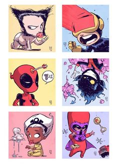 Baby X-men! by Skottie Young