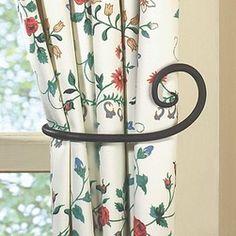 Fake U201cCast Ironu201d Curtain Rods | Household Ideas | Pinterest | Cast Iron,  Iron And Wrought Iron