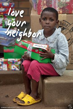 Love your neighbor. Who's your neighbor? Anybody that isn't YOU! (as I tell my Sparks)
