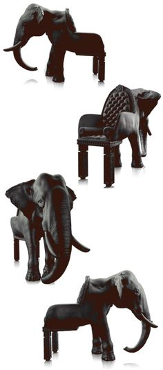 Elephant Chair --- By Maximo Riera