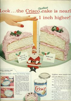 https://flic.kr/p/4dGikR | Crisco Christmas | From Woman's Home Companion, December 1956