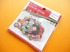 Beautiful Cute Sticker Flakes Sack Kokeshi Dolls Mind Wave (74543)