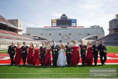 Football Wedding Theme Ideas - Unique Sports Wedding Ideas | Wedding Planning, Ideas & Etiquette | Bridal Guide Magazine