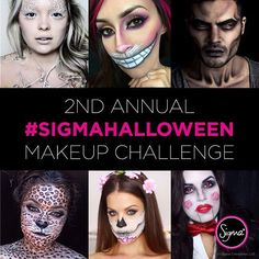 Attention ghouls & boos, are you feeling festive?  Show us your most BOO-tiful #Halloween makeup look for a chance to win a #SigmaPink Prize Pack!  To enter:  1. Follow @sigmabeauty.  2. Tag @sigmabeauty in your post. 3. Use the hashtag #SigmaHalloween. **Initial entry period is October 13th-22nd. Top 6 finalists will be announced on October 23rd for final voting. Open internationally.