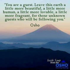 Osho a great visionary, expresses it so eloquently.