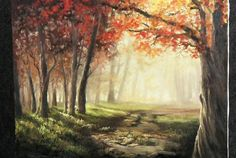 When Fall comes around, we all enjoy the crunch of the leaves and the different colors on the trees. But what about when we try to paint it? Watch Kevin as he shows you how to create this light-filled Autumn painting with lots of detail and colors that make you feel like you are walking in an Autumn forest. For more information about oil paint, please visit: www.paintwithkevin.com