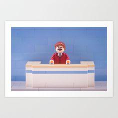 Kind of a Lego big deal Art Print by MrMarkCann - $16.00