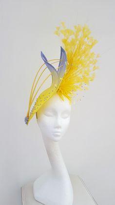 striking #hatinator for #motheofthebride, #royalascothat, Occasion millinery. #jaynealisonmillinery.co.uk